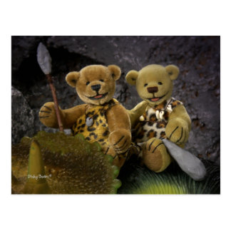 Dinky Bears: Stone Age Postcard