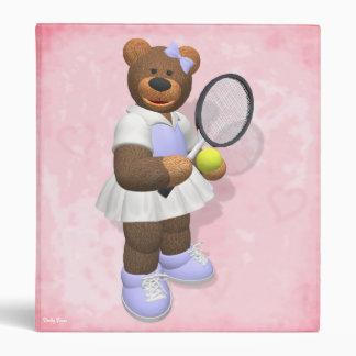 Dinky Bears Tennis Player Binder