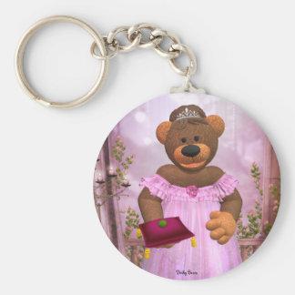 Dinky Bears The Princess and the Pea Keychains