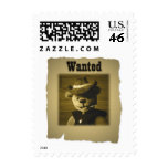 Dinky Bears: Wanted Postage Stamp