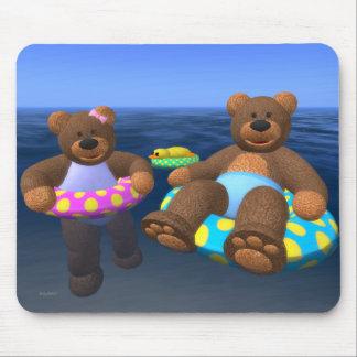 Dinky Bears Water Fun Mouse Pad