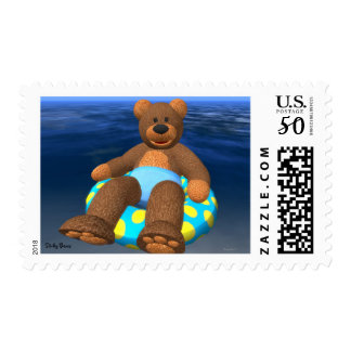 Dinky Bears Water Fun Postage