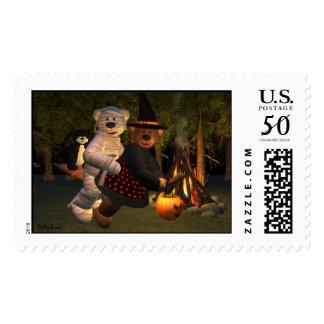 Dinky Bears Witch & Mummy Postage