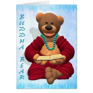 Buddha Bear with Book