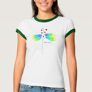 Dinky Dew dragonfly t-shirt
