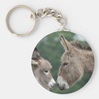 Dinky donkey keychains