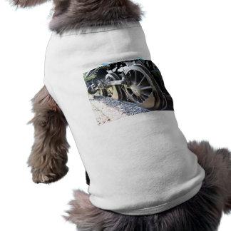 Dinky the Steam Engine - main drive wheel Dog T Shirt