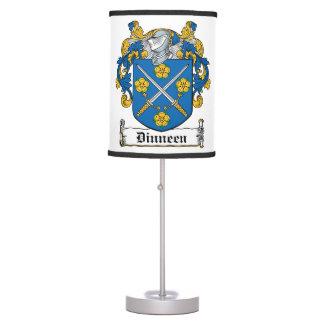 Dinneen Family Crest Table Lamp
