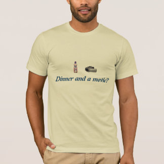 Dinner and a Movie T-Shirt