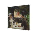 Dinner at Les Ambassadeurs, c.1882 Gallery Wrapped Canvas