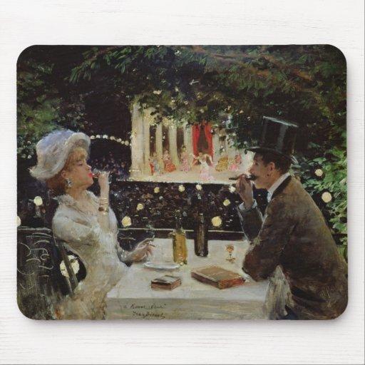 Dinner at Les Ambassadeurs, c.1882 Mouse Pad