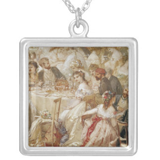 Dinner at the Tuileries, 1867 Pendant