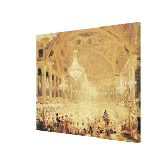 Dinner at the Tuileries Canvas Print