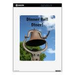 Dinner Bell Diner Skin For iPad