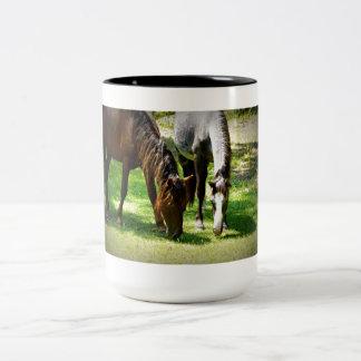Dinner Date Two-Tone Coffee Mug