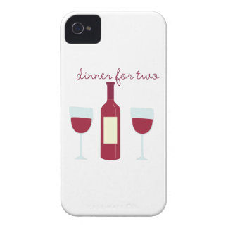 Dinner For Two iPhone 4 Cover