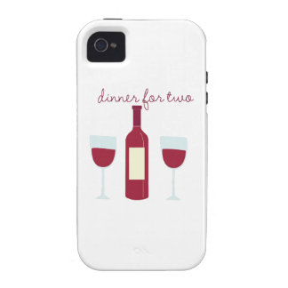 Dinner For Two iPhone 4 Case