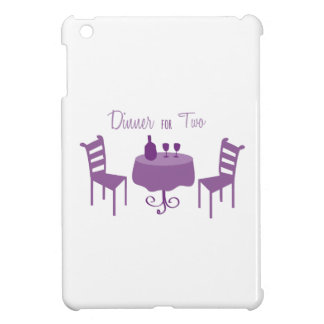Dinner For Two Cover For The iPad Mini
