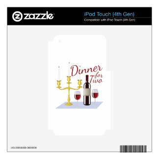 Dinner For Two iPod Touch 4G Skin