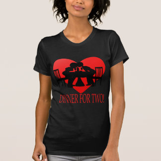 Dinner For Two Tee Shirt