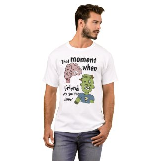 Dinner Friends Zombie Friends T-Shirt