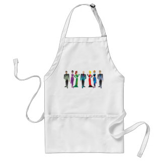 Dinner Guests Aprons Standard Apron