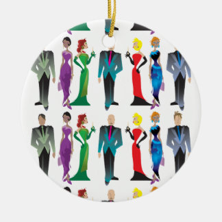 Dinner Guests Ornament
