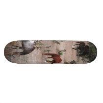 Dinner In The Desert Skateboard Deck
