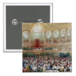 Dinner in the Salle des Spectacles at Pinback Buttons