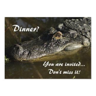 Dinner? 5x7 Paper Invitation Card