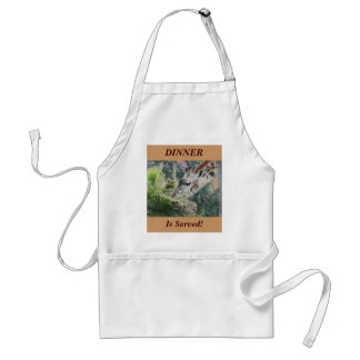 DINNER Is Served! Adult Apron