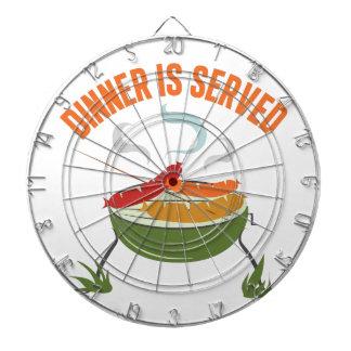 Dinner Is Served Dartboards