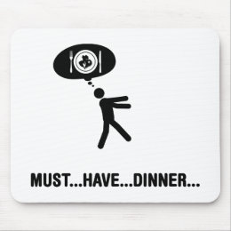 Dinner Lover Mouse Pad