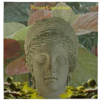 Dinner Napkin (Cloth) for Nonae Caprotinae