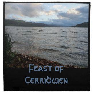 Dinner Napkin (Cloth) for the Feast of Cerridwen
