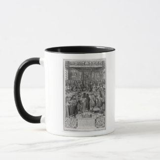 Dinner of Louis XIV  at the Hotel de ville Mug