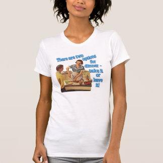 Dinner Options Ladies Cap Sleeve T T-Shirt