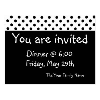 Dinner  or anything!!! postcard