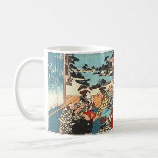 Dinner Party 1840 Coffee Mug