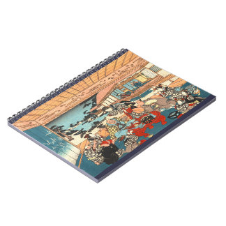 Dinner Party 1840 Spiral Notebook