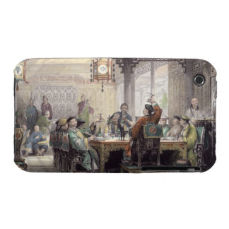 Dinner Party at a Mandarin's House, from 'China in iPhone 3 Case-Mate Cases
