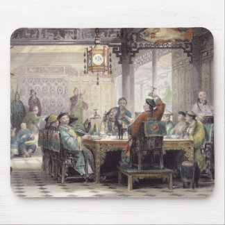 Dinner Party at a Mandarin's House, from 'China in Mouse Pad