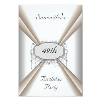Dinner Party Birthday Invitation Add your details