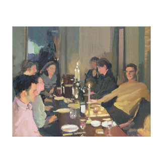 Dinner Party Canvas Print