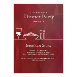 Birthday dinner invitations announcements zazzle dinner party invitation stopboris Images
