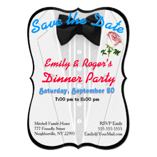 Formal wear invitations announcements zazzle dinner party or other occasion invitation stopboris Gallery