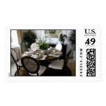 Dinner Party Postage Stamp