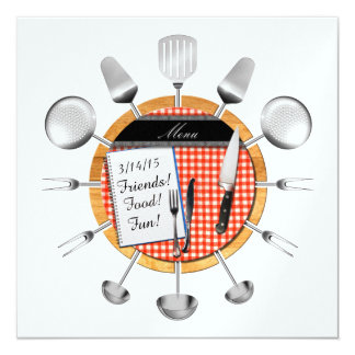 Dinner Party / Special Occasion Invitation - SRF