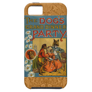 Dinner Party Vintage dogs iPhone SE/5/5s Case