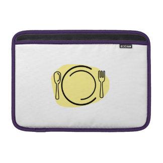 Dinner Plate MacBook Sleeves